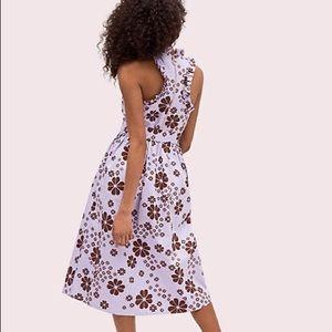 kate spade Dresses - kate spade lilac spade flora midi dress